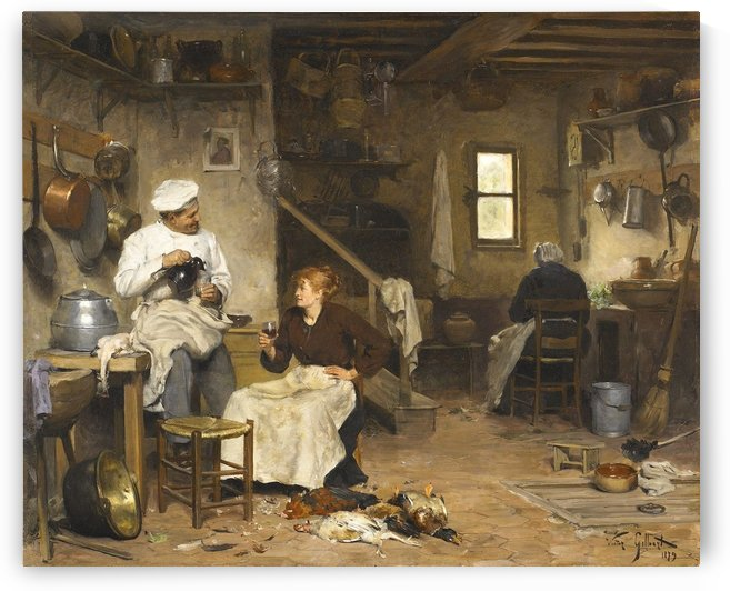Les Cuisiniers by Victor Gilbert