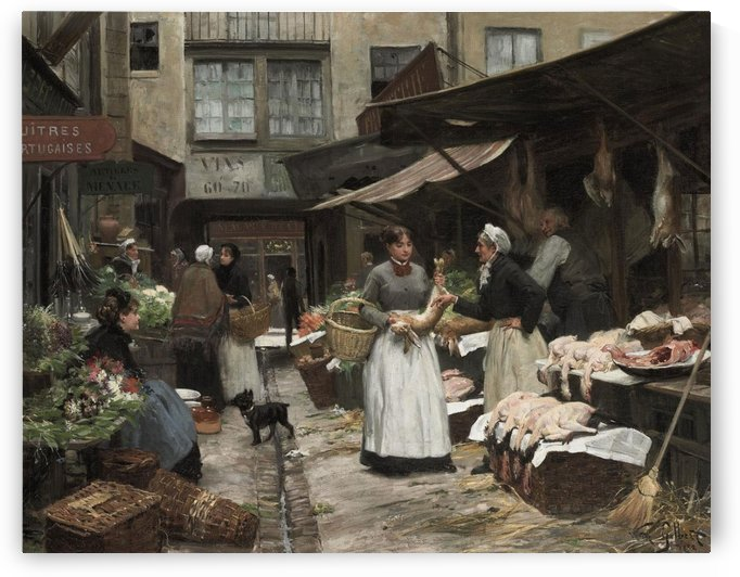 Market Day by Victor Gilbert
