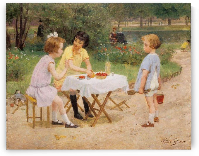 Le Gouter by Victor Gilbert