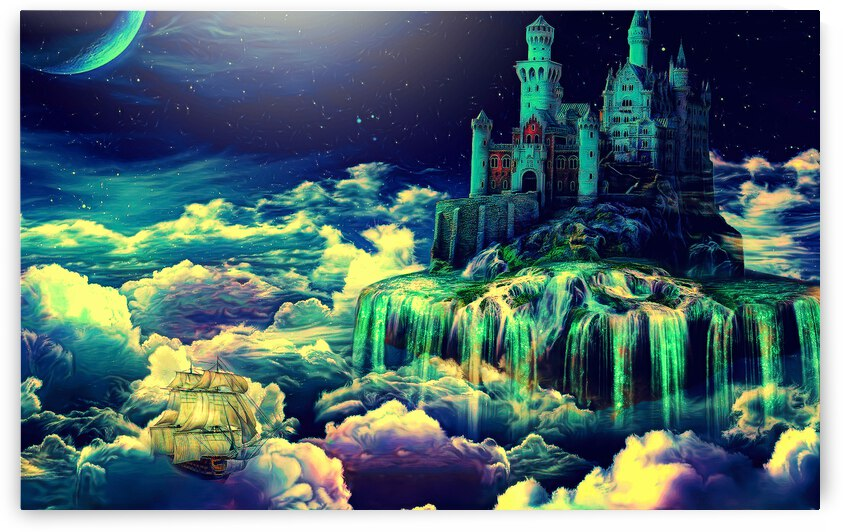 Castle In The Clouds by Angel Photo Art
