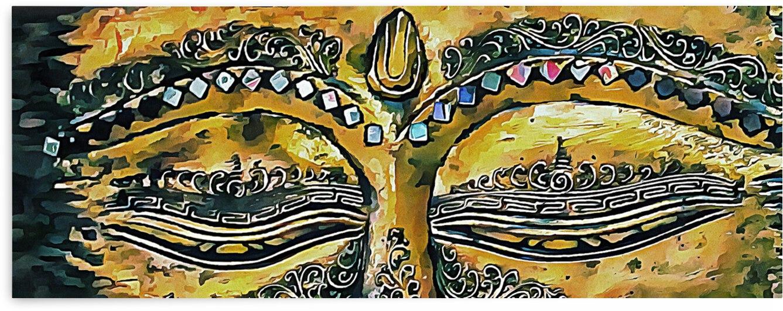 Eyes of Buddha by Dorothy Berry-Lound