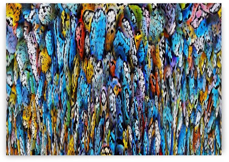 pebbled abstract by Barbara Treen