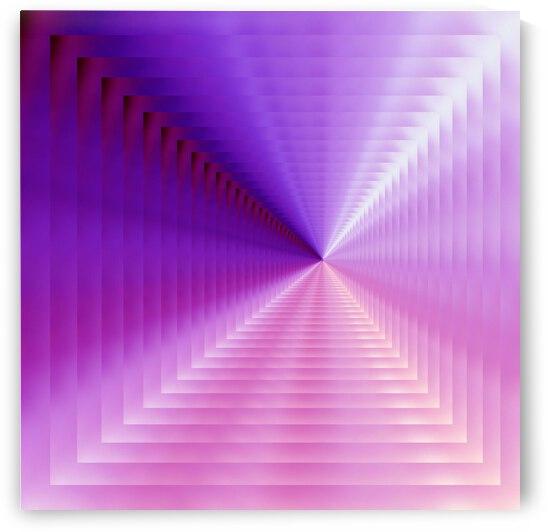 purple corridor by Barbara Treen