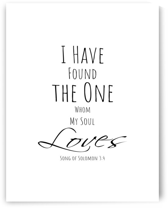 Bible Verse Song of Solomon 3:4 by Mama Gipsy
