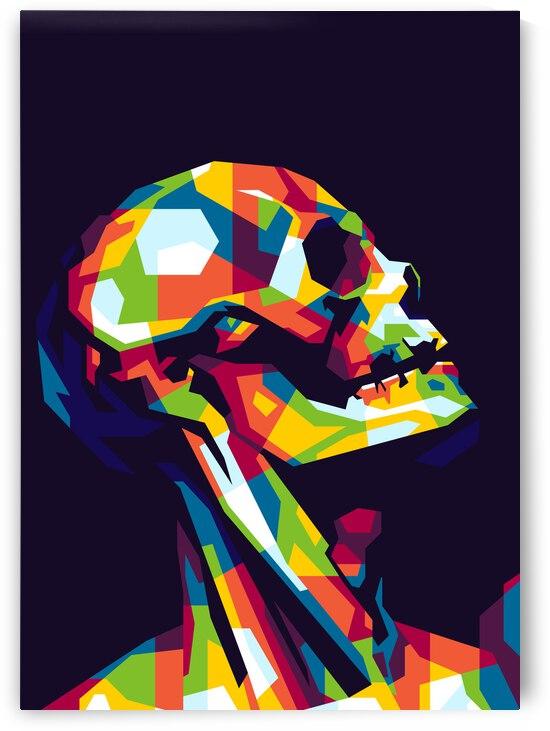 Skull Pose by wpaprint