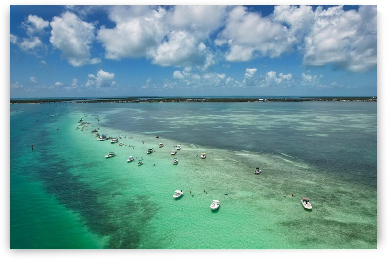 Islamorada Sandbar The Florida Keys 3 by Livus360 Visuals