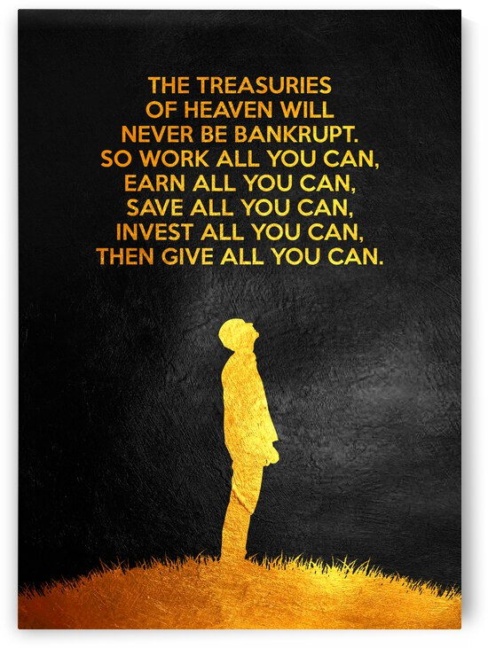 The Treasuries of Heaven Motivational Wall Art by ABConcepts