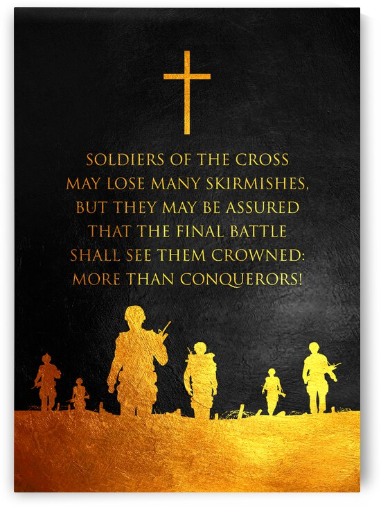 Soldiers of the Cross Motivational Wall Art by ABConcepts