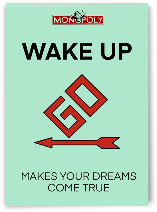 WAKE UP by Mike s ink