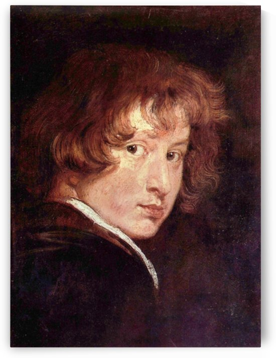 Youthful self-portrait by Van Dyck by Van Dyck