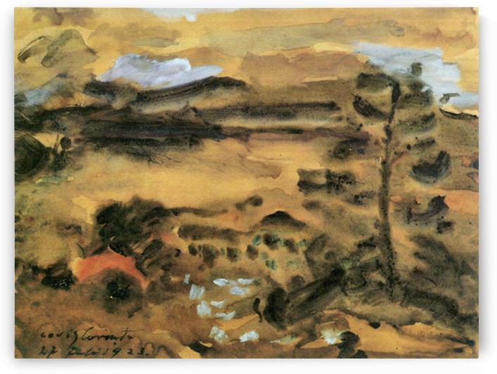 Walchensee -2- by Lovis Corinth by Lovis Corinth