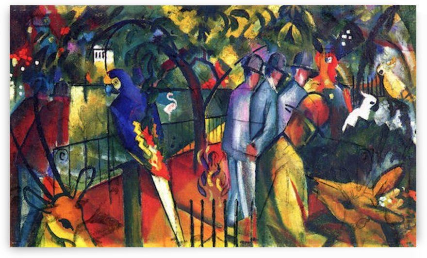 zoological gardens by Macke by Macke