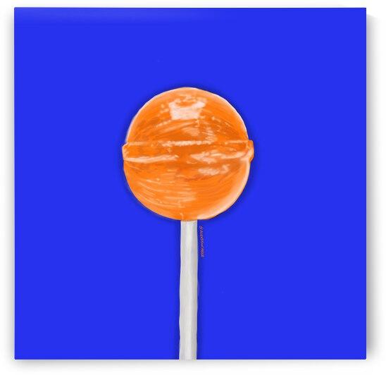 Pop Orange by Alex Duchene
