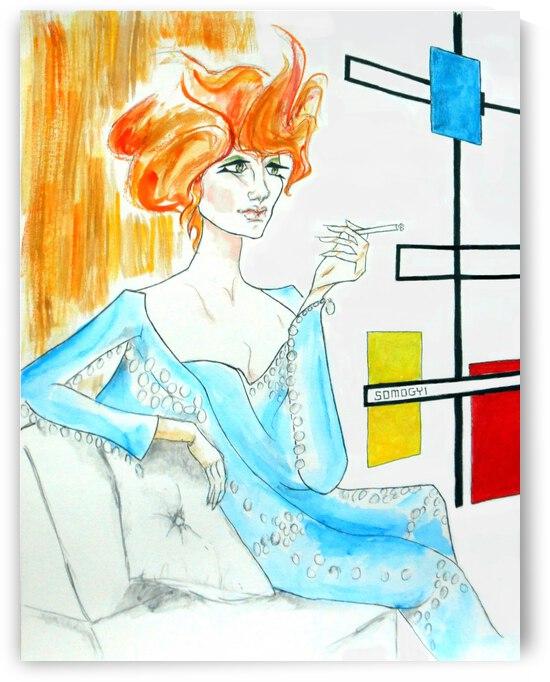Sixties Redhead No. 1 by Jayne Somogy