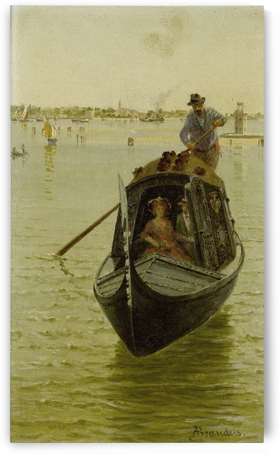 Venetian gondola by Antonietta Brandeis