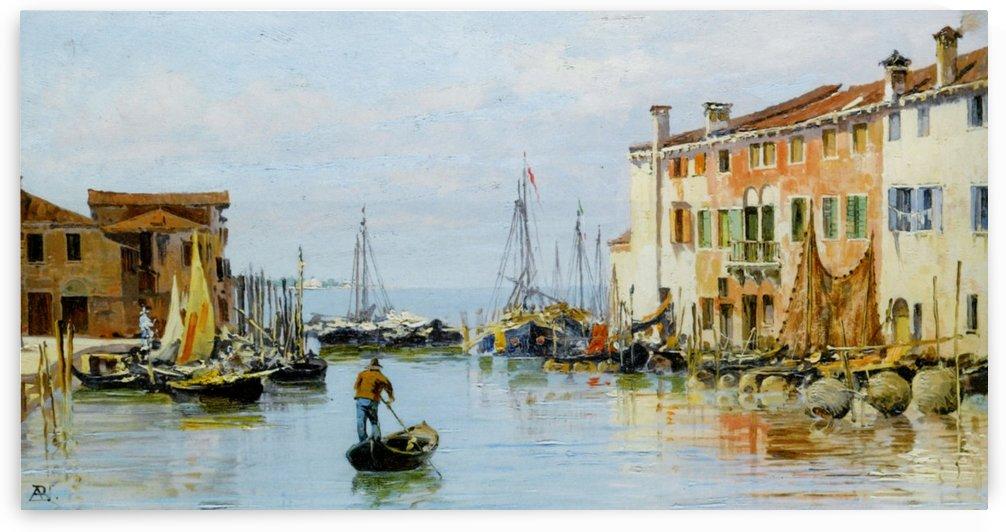 A Venetian Bay by Antonietta Brandeis