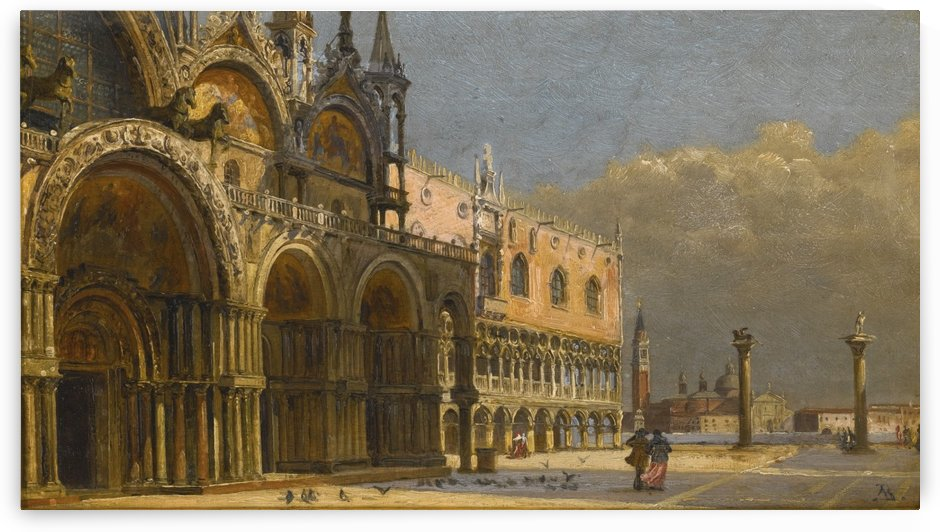 A windy day in Venice by Antonietta Brandeis