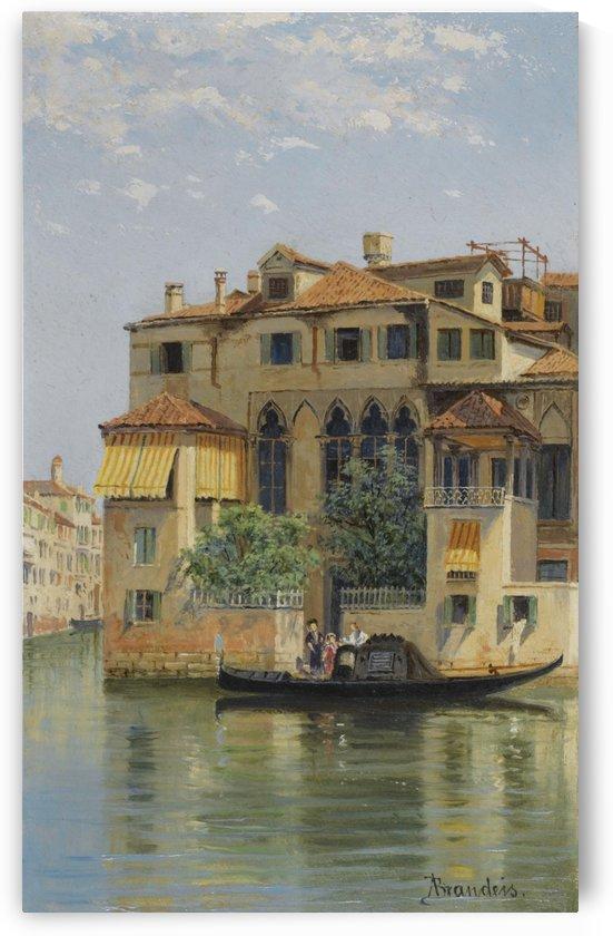 Palazzo Falier, Venice by Antonietta Brandeis