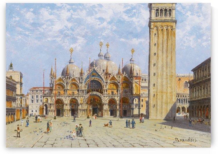 Basilica di San Marco by Antonietta Brandeis