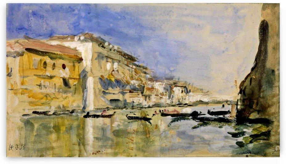 The Grand Canal, Venice by Antonietta Brandeis