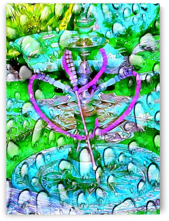Have a Hubble Bubble Hookah Heart by Dorothy Berry-Lound