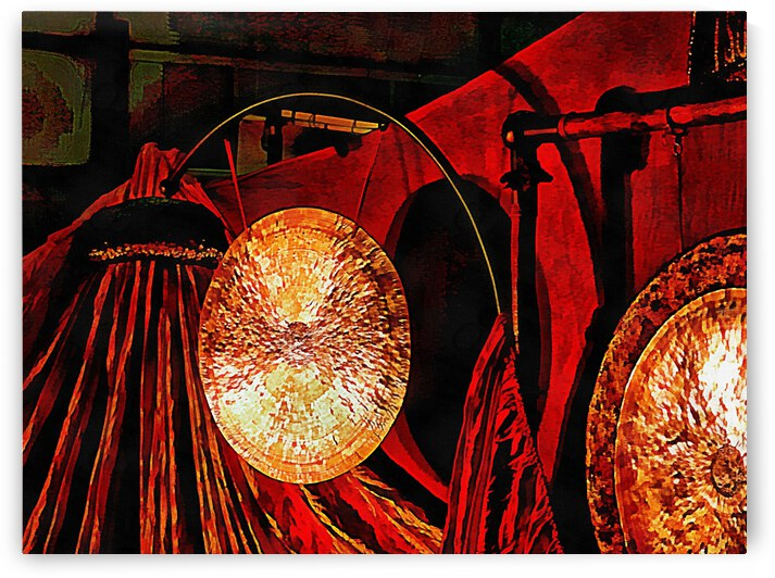 Energy Of Gongs by Dorothy Berry-Lound