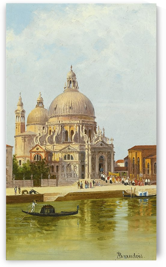 San Marco Della Salute, Venice by Antonietta Brandeis