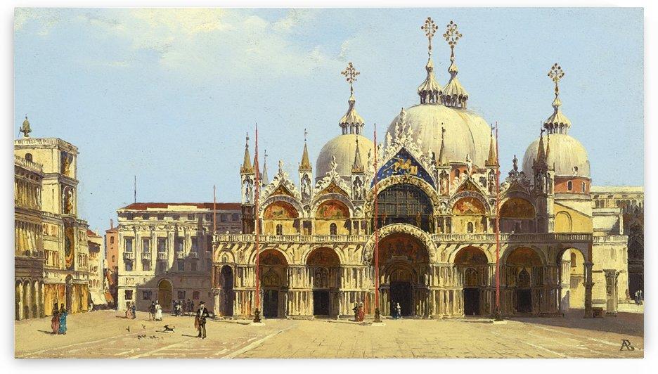 Saint Mark Square, Venice by Antonietta Brandeis