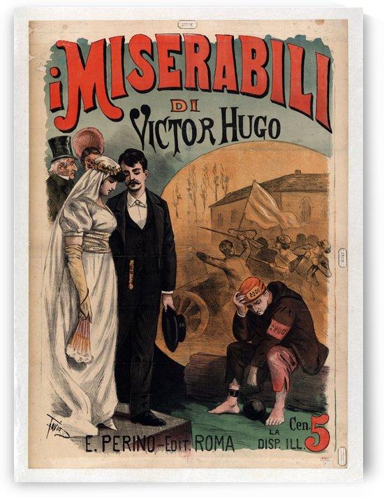 Miserabili Original Vintage Poster by VINTAGE POSTER
