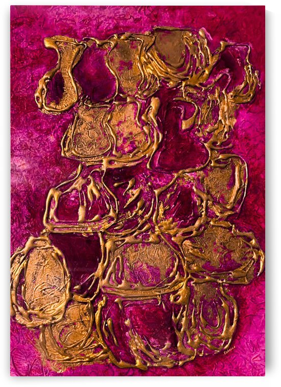 JARS Art Print from Original Oil on Canvas Paint by Rebecca Mangalindan By:Zo® by Maria Desnoyers Art Print Collection By:Zo