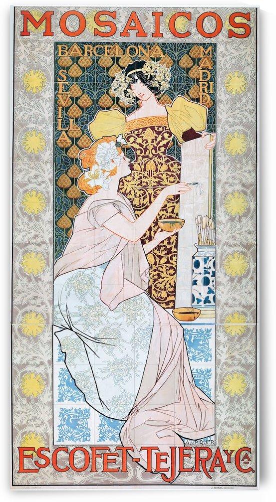 Alexandre de Riquer - Mosaicos by VINTAGE POSTER