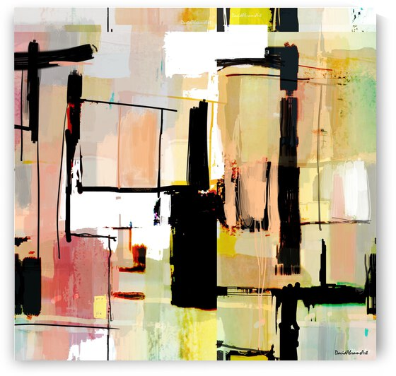 Abstract Perception by David Abrams Art