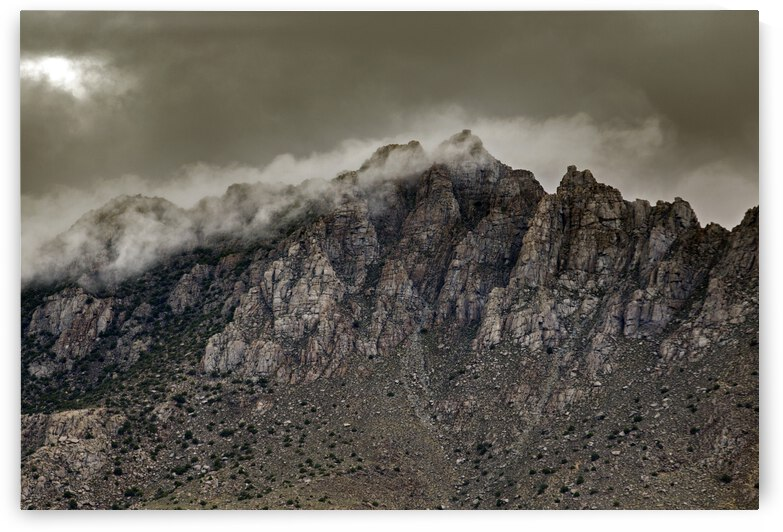 Mystic Mountains of Indigenous Paiutes by Evan Petty Photography