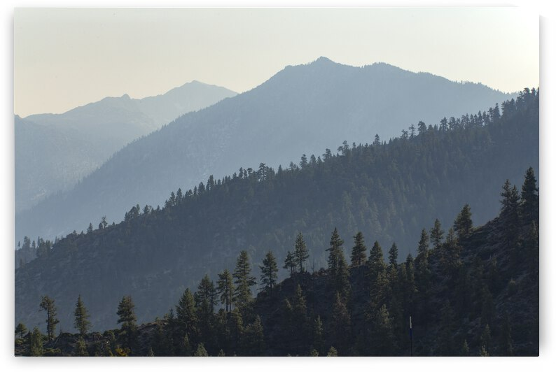Sierra Mountains Stacked by Evan Petty Photography