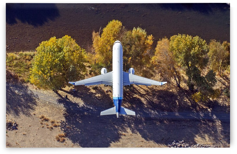 Directly Over an Airliner by Evan Petty Photography