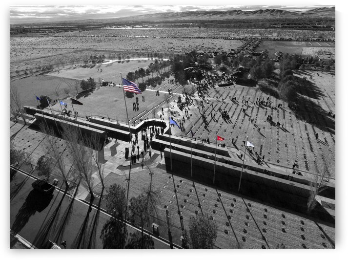 Veterans Cemetery in Nevada by Evan Petty Photography