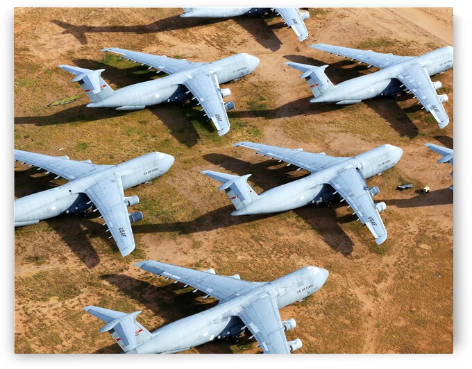 Retired Military Airplanes by Evan Petty Photography