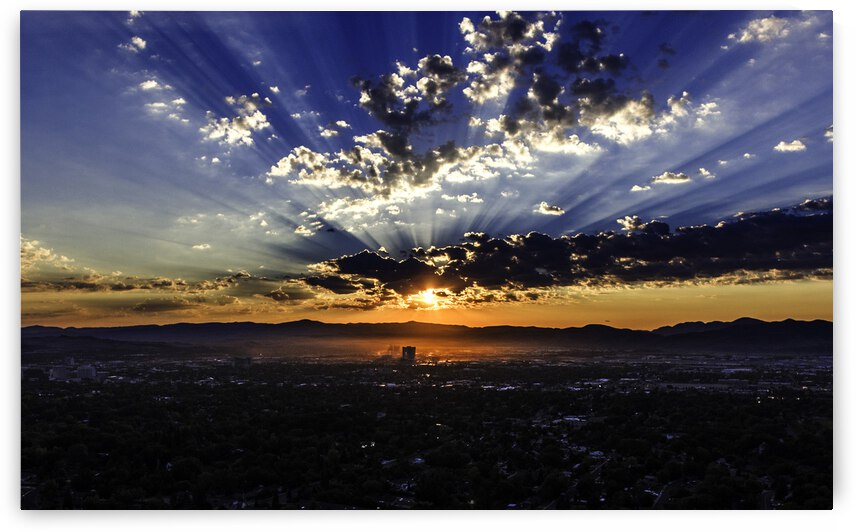 Sunrise in Reno by Evan Petty Photography