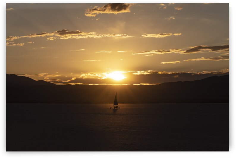 Landsailer at Sunset by Evan Petty Photography
