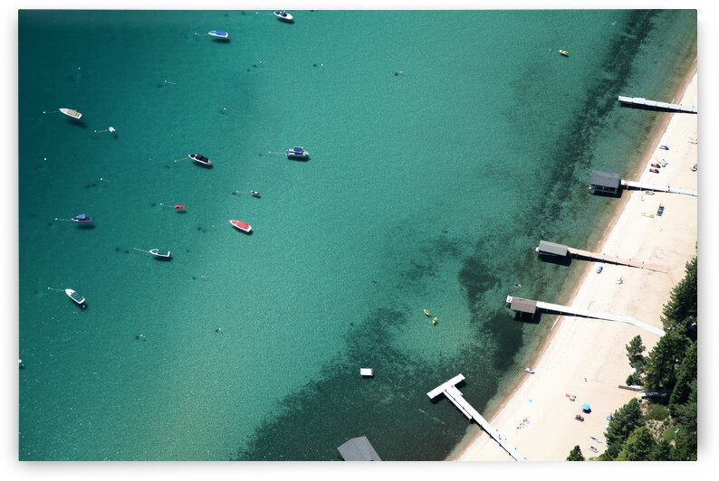 Lake Tahoe Boats and Piers by Evan Petty Photography