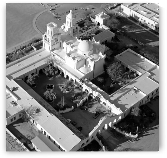 San Xavier del Bac Mission by Evan Petty Photography
