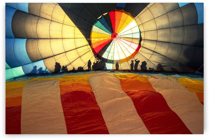 Shadows in a Balloon by Evan Petty Photography