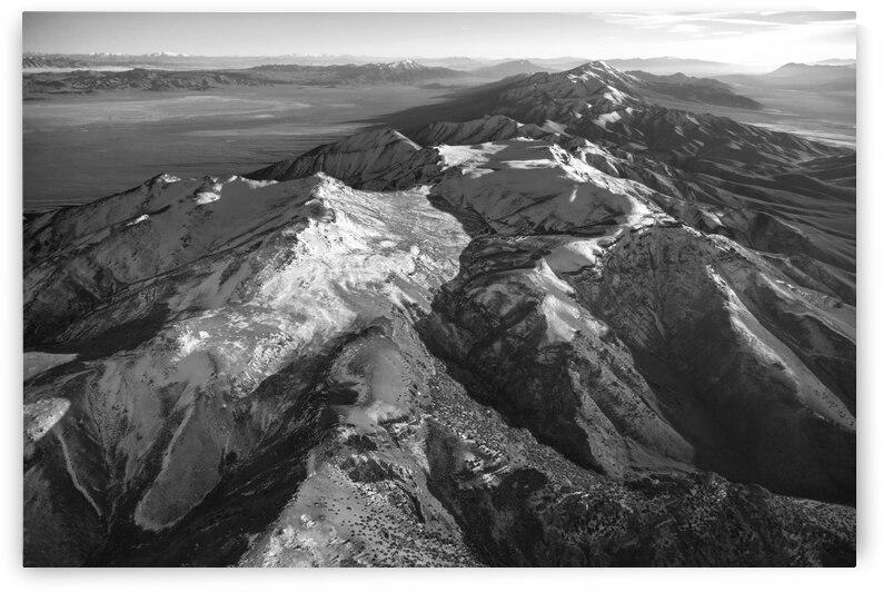 Tobin Mountain Range in Winter by Evan Petty Photography