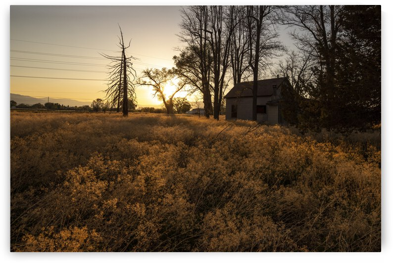 Spooky House at Sunset by Evan Petty Photography