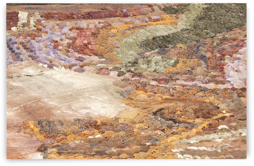 Bright Colors Mine Tailings by Evan Petty Photography
