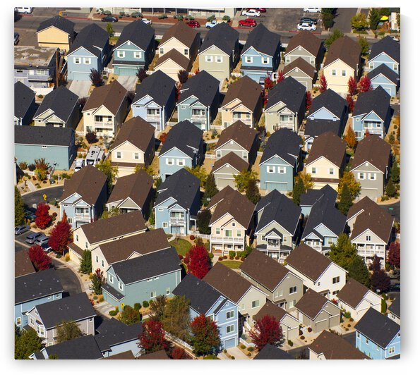 House Colors From the Air by Evan Petty Photography