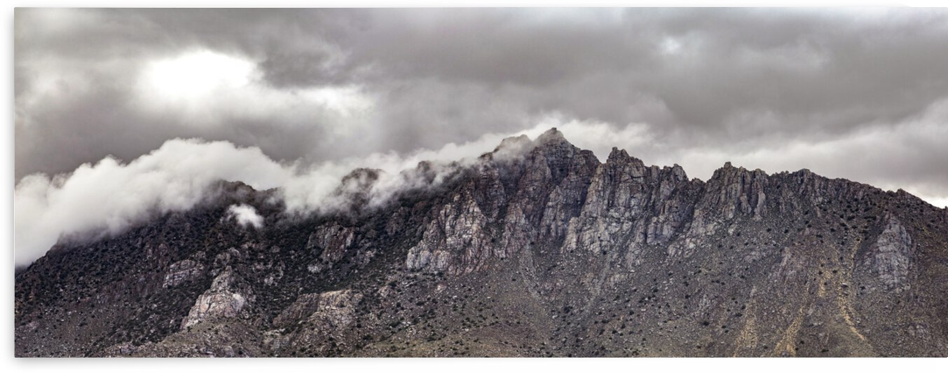Mystic Mountain Full Size Wall Panel by Evan Petty Photography