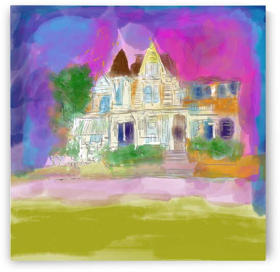 Victorian House at Cape May by Sarah Butcher