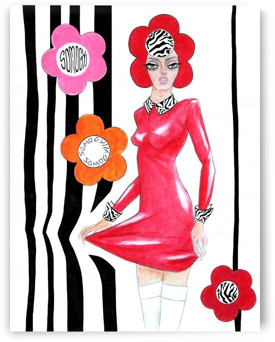 Sixties Redhead No. 4 by Jayne Somogy