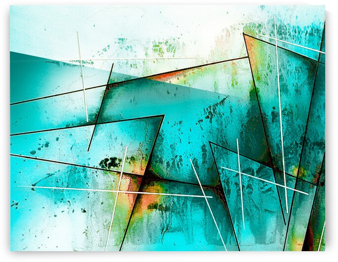 ABSTRACT ART BRITTO QB300A by SIDINEI BRITO